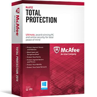Intel McAfee Total Protection