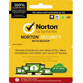 Download Norton Security with Backup 2016